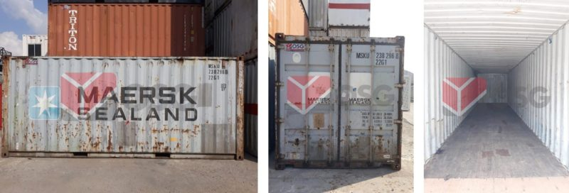 Used Container Trade-in & Buyback