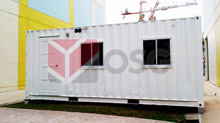 Site office, prefab office, container office, shipping container office, office cabin, portable cabin, portable office, mobile office, portacabin