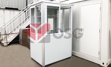 instabooth, security, booth, guardhouse, security booth, guard, guard house, instant